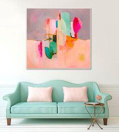 GICLEE PRINT Abstract Painting Acrylic Painting par SarinaDiakosArt