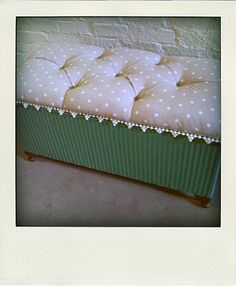 OH MELROSE Lloyd Loom Blanket Box...this website has tons of inspiration