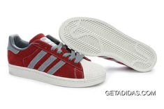 hot sale online 41b73 308c7 Abrasion Resistant Sneaker Dropshipping Supported Shopping Adidas Superstar  II Limited Edition Shoes Red Gray Mens TopDeals, Price   78.14 - Adidas  Shoes ...