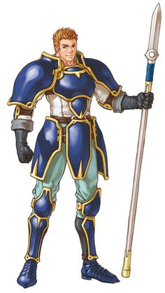 Gatrie from Fire Emblem: Path of Radiance