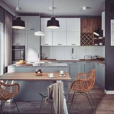 Kitchen Room Design, Kitchen Corner, Kitchen Cabinet Design, Modern Kitchen Design, Home Decor Kitchen, Kitchen Living, Interior Design Kitchen, Kitchen Furniture, New Kitchen