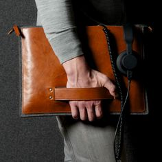 Hard Graft Grab Laptop Folio