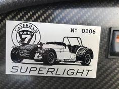 Caterham 7 1.6 (EU2) Superlight #106