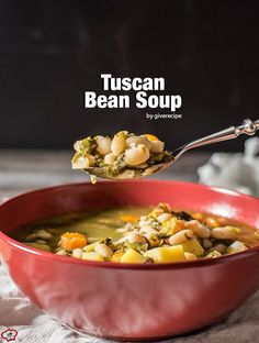 tuscan bean soup tuscan bean soup is the best meal on chilly days a ...