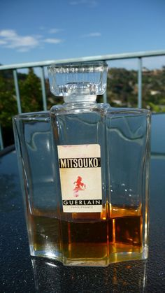 Guerlain Vintage1938 Mitsouko Perfume Bottle