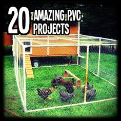20 Amazing PVC Projects