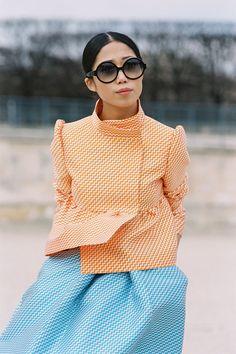 Vanessa Jackman: Paris Fashion Week AW 2013....Oxana
