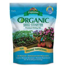 Espoma 16 qt. Organic Seed Starter Premium Potting Mix
