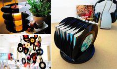 27 recyclages charmants avec de vieux vinyles - Des idées