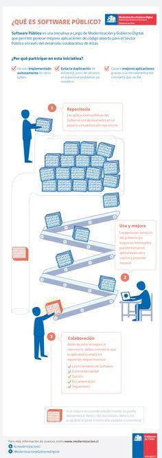 Public Software System infographics - © Dominique Tetzner