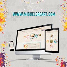 Hola buenos días, acá comparto mi sitio Web y Blog personal, en el cual encontrarán temas de tecnología y de Diseño, también algo de mi trabajo como Freelance >>> www.miguelcreart.com  #MiguelCreart #MiguelCreartDesign #Portafolio #MiguelCreartWeb #MiguelCreartBlog #MiguelCreartFreelance Blog, Product Development, Web Development, I Found You, Tecnologia