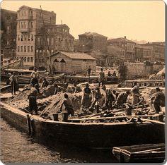 ✿ ❤ Bir Zamanlar İSTANBUL, Kum İskelesi Beşiktaş, 1870 #istanlook