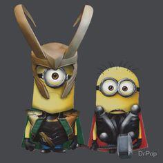 Thor & Loki Minion