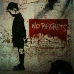 NO REGRETS. Forte Prenestino, Roma, 2011