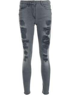 3X1 distressed skinny jeans. #3x1 #cloth #仿旧紧身牛仔裤