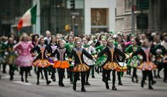 Parades and Sunscreen: Happy St. Patrick's Day! Irish American, American Made, St Patricks Day Parade, Heritage Month, Ny Usa, The St, Graphic Design Art, Great Photos, New York City