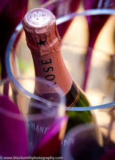 Moet Rose by Rob Smith  #champagne