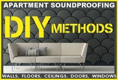 Apartment Soundproofing Methods - Wall, Floor, Ceiling, Window ...