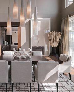 Voici la salle à manger contemporaine en 62 photos! | Salons, Deco ...