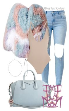 """""""Untitled #2723"""" by highfashionfiles on Polyvore featuring Eres, Givenchy, Jimmy Choo, Bling Jewelry, Rolex and Phyllis + Rosie"""