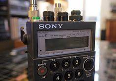 Sony Weltempfang mit dem ICF-Pro70