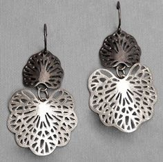 Artist Amie Louise Plante of Rhode Island created these intricate beauties. She was inspired by sea fans, those delicate, waving plants you see in underwater footage.