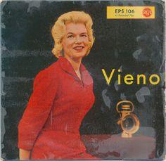 Vieno Kekkonen - Vieno (1958, Vinyl)   Discogs My Darling, Extended Play, Pop Fashion, Orchestra, Album Covers, 1950s, Band