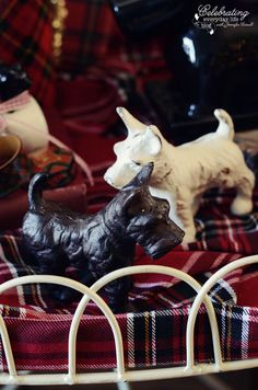{Christmas Collectibles} My Scottie Dog Collection