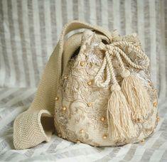 My Bags, Purses And Bags, Drawing Bag, Potli Bags, Denim Handbags, Floral Clutches, Fru Fru, Girls Bags, Handmade Bags