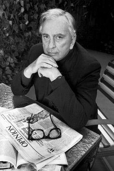Gore Vidal (1925-2012) American writer and playwright.