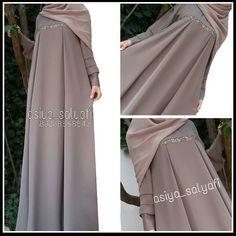 Ideas Sewing Dress Wedding Simple For 2019 - Prom Dresses Design Abaya Fashion, Modest Fashion, Fashion Outfits, Hijab Style Dress, Abaya Style, Modele Hijab, Mode Abaya, Muslim Women Fashion, Abaya Designs