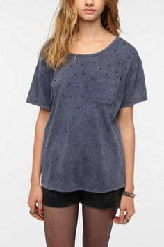 Cope Acid Wash Tee  #UrbanOutfitters