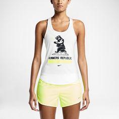 """Damska koszulka bez rękawów Nike """"Runners Republic"""". Nike Store PL"""
