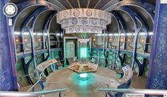 GOOGLE MAPS EASTER EGGS LETS YOU JOURNEY TO THE CENTER OF THE TARDIS