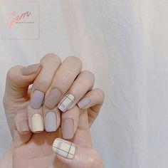 20 trending winter nail colors & design ideas for 2019 page 43 Pastel Nails, Acrylic Nails, Trendy Nails, Cute Nails, Asian Nails, Korean Nail Art, Minimalist Nails, Colorful Nail Designs, Dream Nails