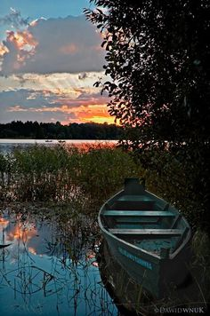 Sunset in Lithuania -