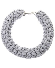 Crochet Rope Collar