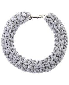 Crochet Rope Collar