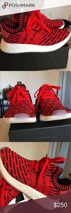 Adidas NMD R2 Brand new NMD R2 in Core Red Adidas Shoes Sneakers