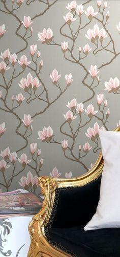 Cole & Son Magnolia Wallpaper                                                                                                                                                                                 More