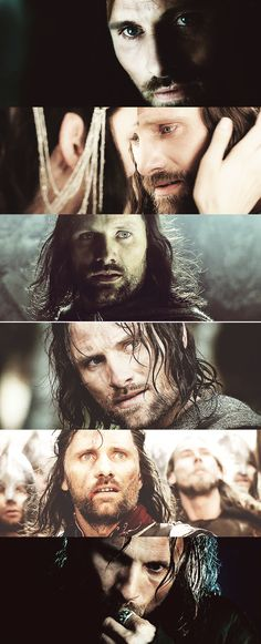 Viggo Mortenson is the best actor that could have ever been aragorn