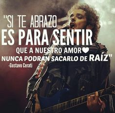 frases cerati, gustavo cerati raiz, bocanada Music Lyrics, Music Quotes, My Music, Soda Stereo, Mr Wonderful, Rock Songs, Love Messages, Music Bands, Woman Quotes
