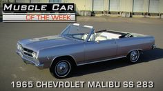 Muscle Car Of The Week Video Episode #156:  1965 Chevrolet Malibu SS 4-S...