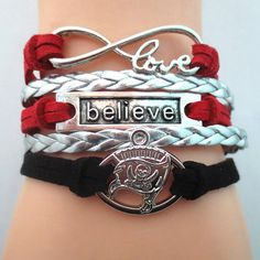 TODAY'S SPECIAL OFFER BUY 1 OR MORE, GET 1 FREE - $19.99! Limited time offer - Infinity Love Tampa Bay Buccaneers 2016 B Football Team Bracelet on Sale. Buy one or more bracelets and we will give you