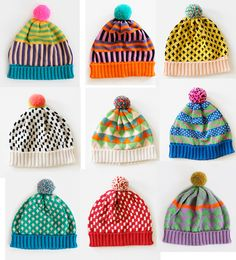 omg - my mom should make these! love the color combos! mutsen.jpg