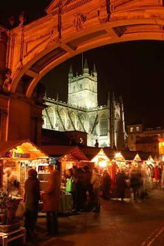 Bath Christmas Market Copyright Bath Tourism Plus / Colin Hawkins