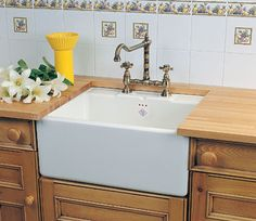 Shaws sinks are a British manufacturer who have been producing traditional Belfast sinks for over 100 years