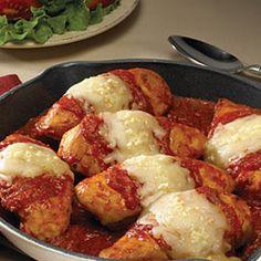 Prego Easy Skillet Chicken Parmesan - Price Chopper Recipe