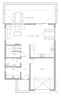 Small house floor plans small home big country style ideas for house design house plan ch351 10 malvernweather Gallery