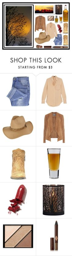 """Wilder Southwest:  Tequila Shots at Sunset"" by wildersouthwest ❤ liked on Polyvore featuring Taya, Joseph, Dorothy Perkins, Circle G, Bormioli Rocco, LAQA & Co., Elizabeth Arden, Charlotte Tilbury and Will Leather Goods"